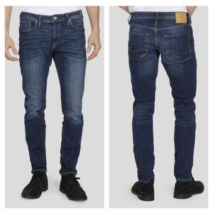 Jack & Jones Tim Straight Leg Slim Fit Jea…